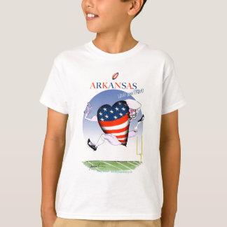 Arkansas luide en trotse, tony fernandes t shirt