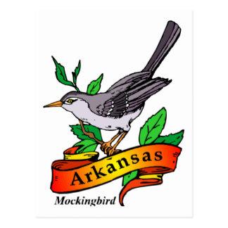 Arkansas spotlijster briefkaart