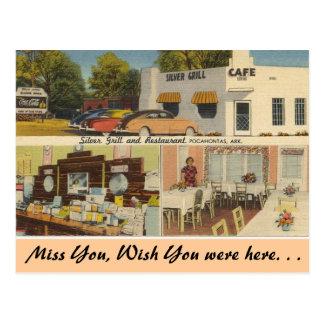 Arkansas, Zilveren Grill & Koffie Briefkaart