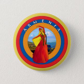 Armeense Danser om Knoop Ronde Button 5,7 Cm
