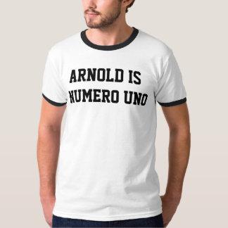 Arnold is Uno Numero het T-shirt van de Bel