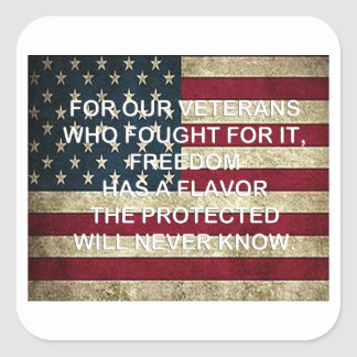 Aroma van de Stickers van de Dag van de Veteranen