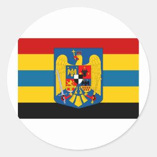 Aromanians tijdens WO.II, Roemenië Ronde Sticker
