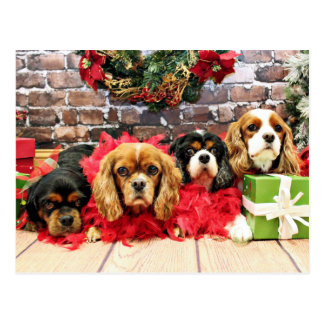Arrogante Kerstmis toe - - de Schat, Lelie, nam Briefkaart