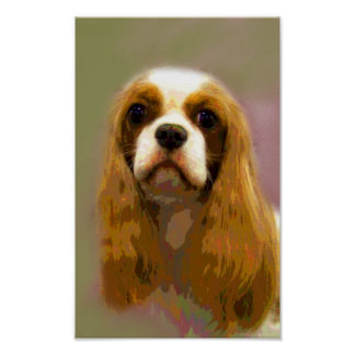 Arrogante Koning Charles Spaniel Fine Art Prints