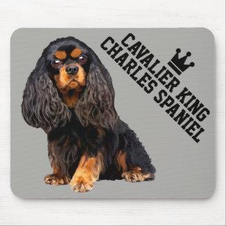 Arrogante Koning Charles Spaniel Mousepad Muismatten