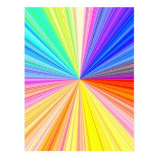 ART101 het Wiel van de kleur Briefkaart