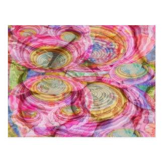 Art101 ROZE Graffiti - Exotische Shells van het Briefkaart