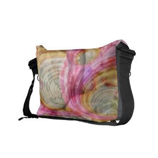 Art101 ROZE Graffiti - Exotische Shells van het Messenger Bags