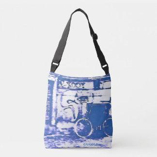 Art2Go Zakken Blue#1 - helemaal over - Zak van het Crossbody Tas