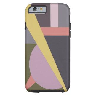 Art deco Geometrisch Nr 1 iPhone 6 geval Tough iPhone 6 Case