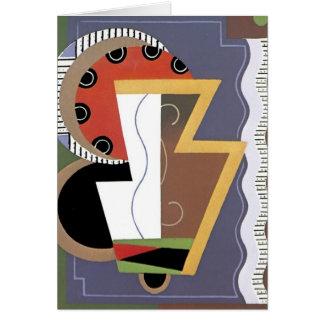 Art deco Notecard Briefkaarten 0