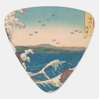 Art. Hiroshige van de Draaikolk van Naruto het Plectrum