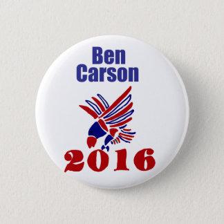 Art. van Carson van Ben het Presidentiële Ronde Button 5,7 Cm