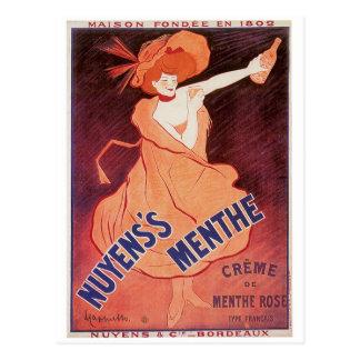 Art. van de Advertentie van de Drank van de Wijn Briefkaart