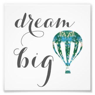 Art. van de Ballon van de Hete Lucht van droom het Foto Afdrukken