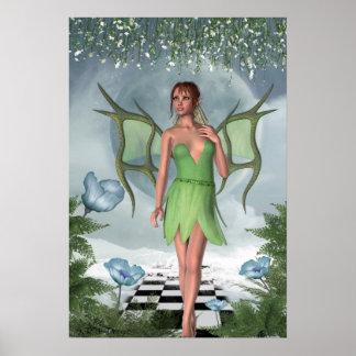 Art. van de Fantasie van de Fee van de Dromen van Poster