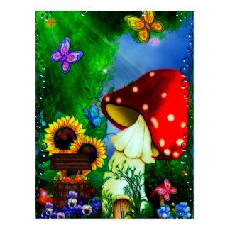 Art. van de Fantasie van de Geul van Shroom het Briefkaart