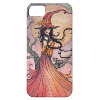 Art. van de Fantasie van de Heks en van de Kat van Barely There iPhone 5 Hoesje