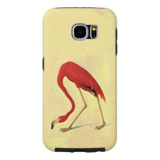 Art. van de Flamingo van Audubon het Amerikaanse Samsung Galaxy S6 Hoesje