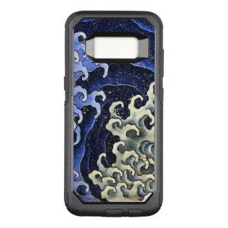 Art. van de Golf van Hokusai het Vrouwelijke OtterBox Commuter Samsung Galaxy S8 Hoesje