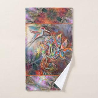 Art. van de Pastelkleuren van de Vlucht van de Bad Handdoek