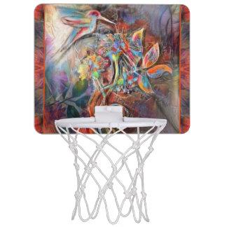 Art. van de Pastelkleuren van de Vlucht van de Mini Basketbalring