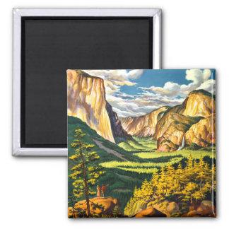 Art. van de Reis van het Park van Yosemite het Magneet