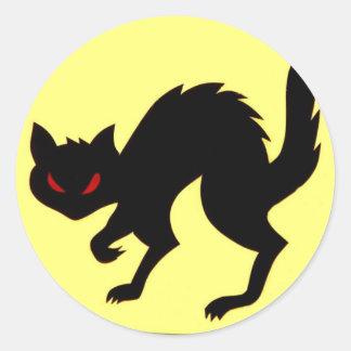 Art. van de Sticker van de Kat van het Vliegtuig