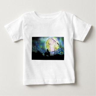 Art. van de Verf van de Nevel van het Landschap Baby T Shirts