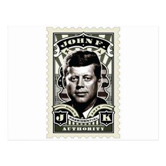 Art. van de Zegel van John F. Kennedy het Vintage Briefkaart
