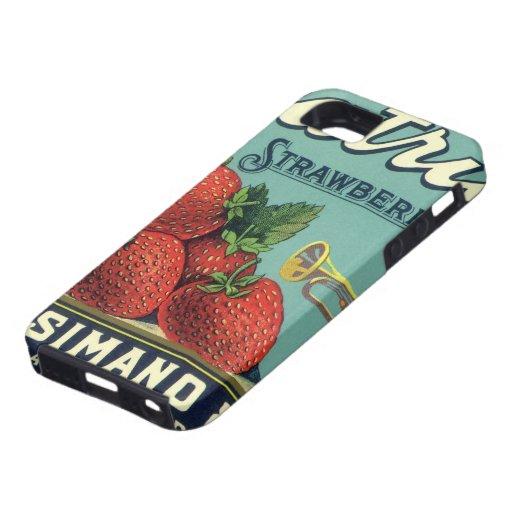 Art. van het Etiket van het Krat van het Fruit van iPhone 5 Cover
