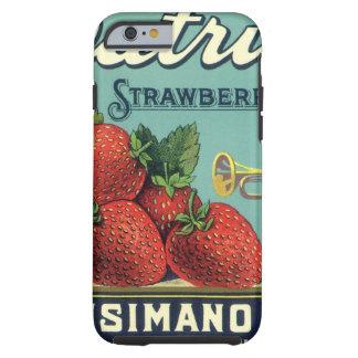 Art. van het Etiket van het Krat van het Fruit van Tough iPhone 6 Case