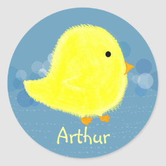 Arthur Baby Chick Stickers