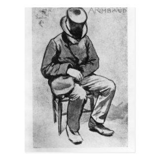 Arthur Rimbaud Briefkaart
