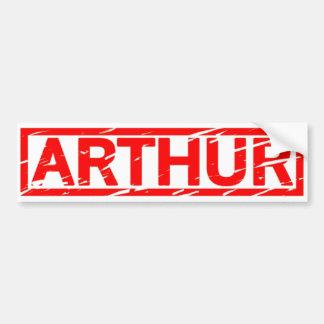 Arthur Stamp Bumpersticker