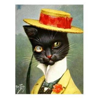 Arthur Thiele - M. Cat Briefkaart