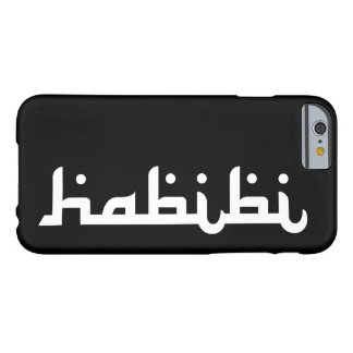 Artistieke Habibi Barely There iPhone 6 Hoesje