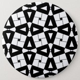 Artistieke ornamentenillustratie ronde button 6,0 cm