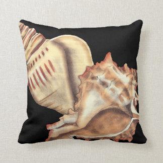 Artistieke Shells van de Kroonslak Sierkussen
