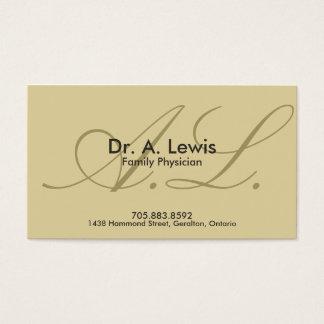 Arts en Medisch Visitekaartje - Monogram