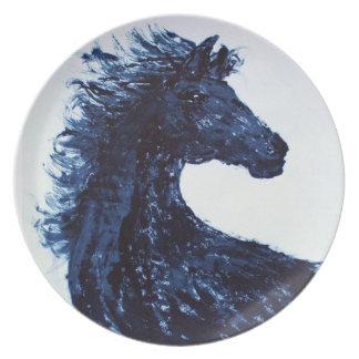 Arty Zwarte Bord van het Paard