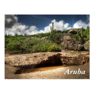 Aruba, de gouden stormloop is over briefkaart