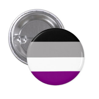 Asexuality Ronde Button 3,2 Cm