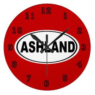 Ashland Oregon of Ohio Ronde Klok Large