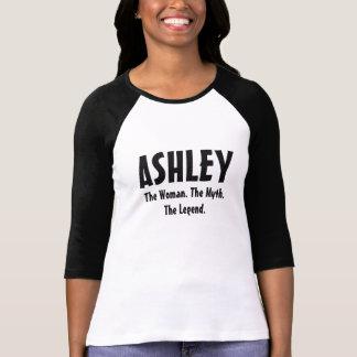 Ashley de vrouw, de mythe, de legende t shirt