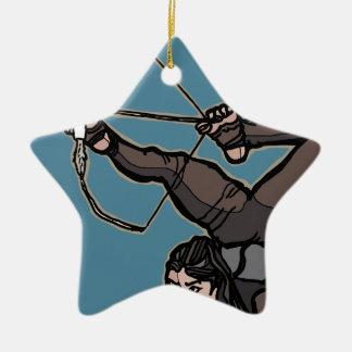 AsianFeetArcher Keramisch Ster Ornament
