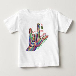 ASL I houdt van u onder Maretak Baby T Shirts