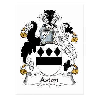 Aston CREST van de Familie Briefkaart