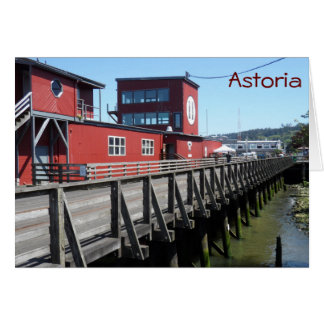 Astoria, Oregon Kaart